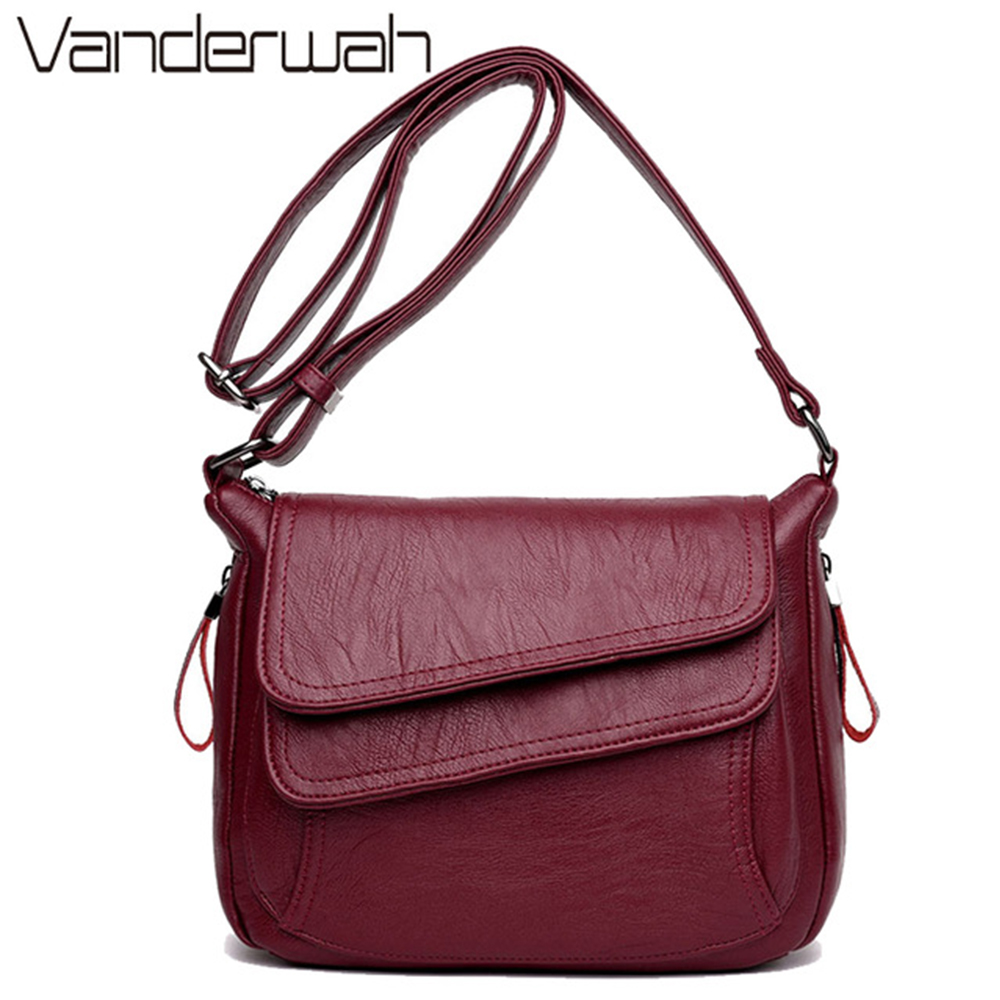 Hot White Summer Bag Leather Luxury Handbags Women Bags Designer Women Shoulder Messenger Bags For Women 2018 Sac A Main Femme