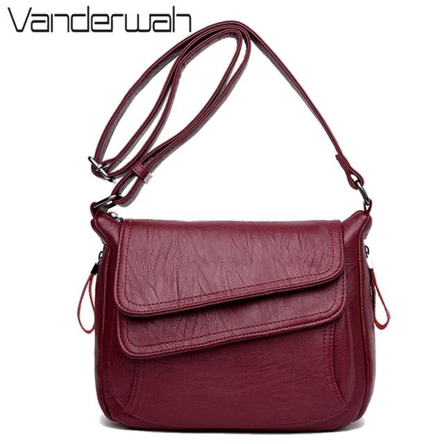 Hot Winter Style Bag Leather Luxury Handbags Women Bags Designer Women Shoulder Messenger Bags For Women 2020 Sac A Main Femme