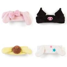 Cartoon Plush Hairband Toy kuku bunny Big Ear Dog Puding Soft Plush Headband For Girls Face Washing Clean Makeup Tool