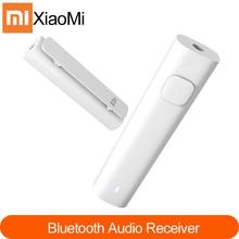 Original xiaomi adaptador receptor de áudio bluetooth com fio para adaptador de mídia sem fio para 3.5mm fone ouvido alto falante do carro aux
