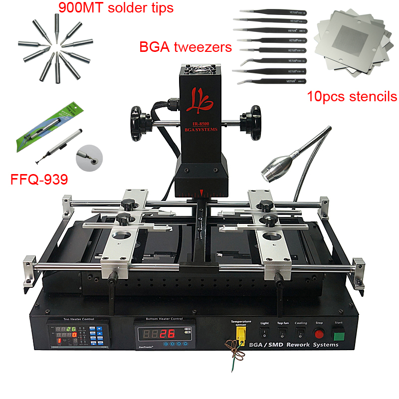 IR8500 BGA rework station infrared motherboard chip PCB repair solder machine