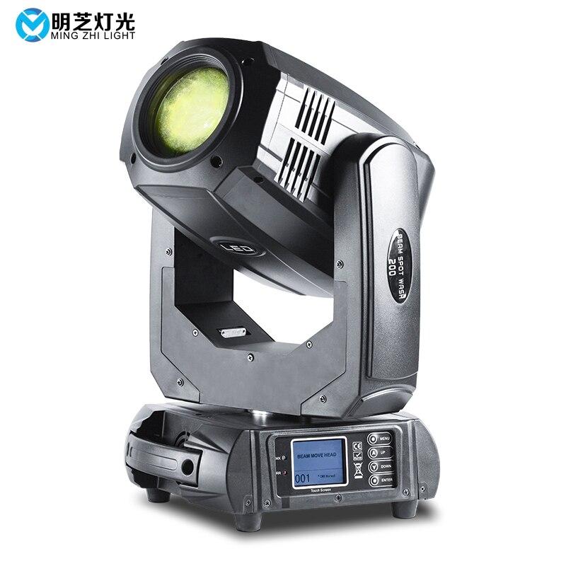 Mingzhi 200W LED Sport Light Moving Head Beam Lights DJ Disco Led Light Cob Light - 5
