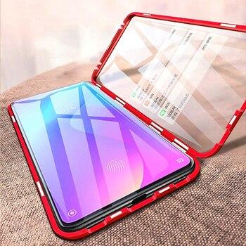 360 Magnetic Phone Case For xiaomi mi 9t Double Sided Glass Cases On Xaomi 9t pro mi 9t 9tpro t9 t9pro mi9t Metal Cases Coque 6
