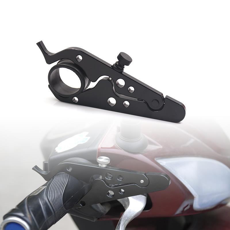 Universal Motorbike Throttle Control Lock Hand Grips Assist Part Adjustable Motorcycle Throttle Clamp With Rubber Band