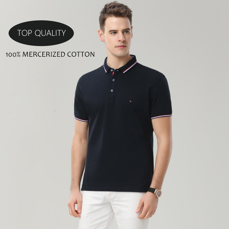 2020 New Brand Reserva Aramy Men Polo Shirt Cotton Summer Mens Short Sleeve Solid Color Polos Shirts Tommis Mens Casual Lapel