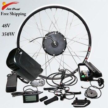 Kit de Bicicleta eléctrica de 48V y 350W, Kit de conversión de...