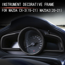 Accessori del telaio della copertura della decorazione del cruscotto del volante di stile dellautomobile per Mazda CX 3 (2015 2021) Mazda2 (2020 2021)