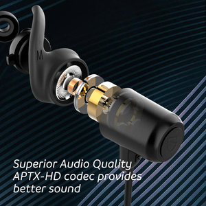 Image 2 - SounPEATS Bluetooth 5.0 Wireless Earphones IPX8 Waterproof Sports Earphones with Magnetic Charging APTX HD 14 Hours Playtime