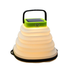 цена на Waterproof Camping Light foldding Solar Powered Lantern LED Mini Hanging Flashlight Tent Lamp USB outdoors Night Light Portable