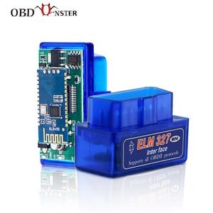 Image 1 - Herramienta de diagnóstico de coche, miniadaptador V1.5 ELM327 PIC18F25K80, Bluetooth, WIFI, OBD2, ELM 327, lector de código para Android obd2 OBDII/IOS/PC