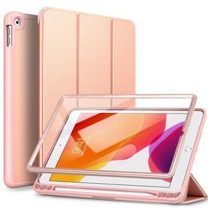 Funda dura de lujo GrandEver para iPad 2019 7. ª generación, funda delgada de piel sintética con tapa para Apple iPad 2019 de 10,2 pulgadas, Fundas traseras