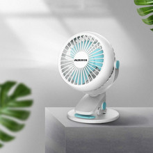 USB Mini Portable Fan Electric Fan Strong Wind Desktop Office Student Dormitory Household Travel Essential Mute Charging creative electric fan mini student hostel usb convenient carry it small fan rechargeable mute bed strong comfortable soft
