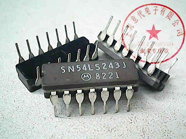 SN54LS243J MOT DIP-14 Новый