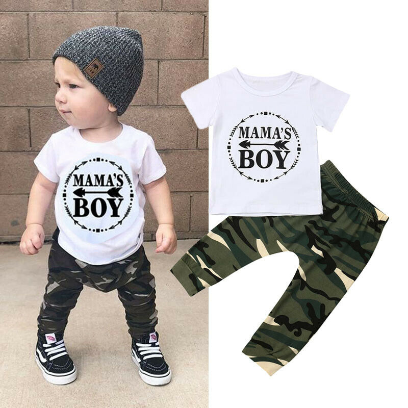 Pudcoco Summer Newest arrival Newborn Baby Boy Clo