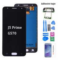 """Original para 5.0 """"samsung j5 prime lcd g570 g570f g570m display tela de toque para samsung galaxy j5 prime assembléia lcd"""