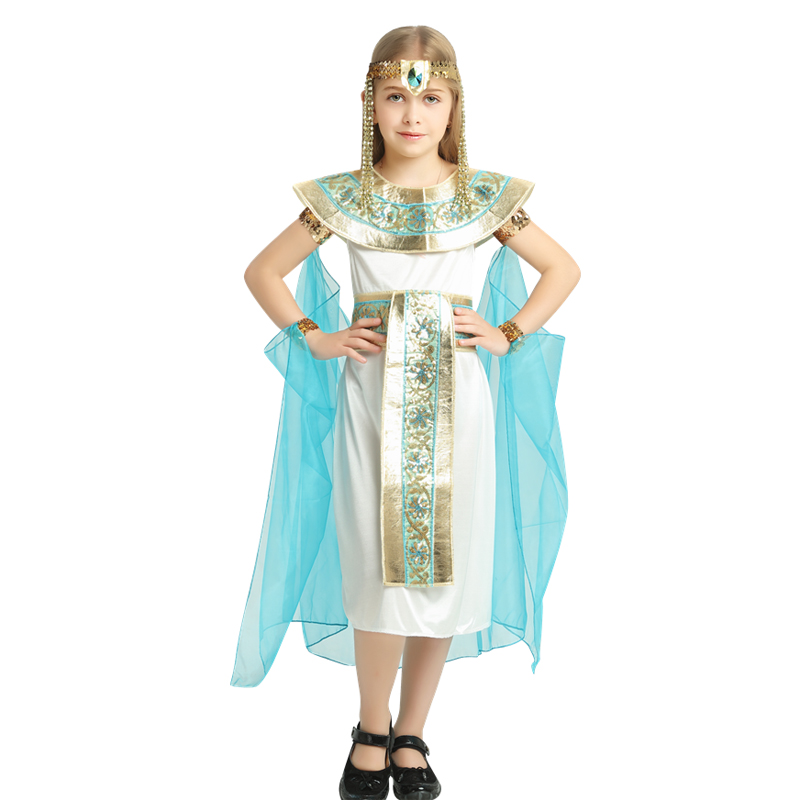 Egyptian Cleopatra Princess Child Costume Cleopatra Historical Character