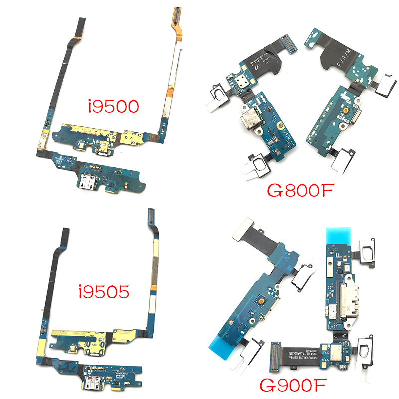 Dock Connector Micro USB Charger Charging Port Flex Cable For Samsung Galaxy S4 S5 Mini I9500 I9505 I337 I9190 G900F G800F