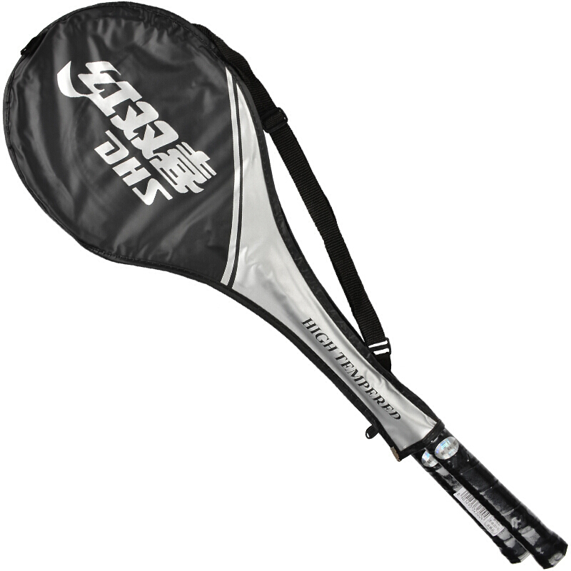 Купить с кэшбэком DHS badminton racket 208 popular series of feather racket couples (random color delivery)