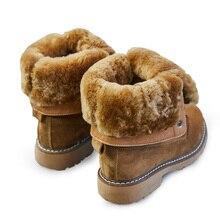 Обувь на танкетке; зимние ботинки из натуральной кожи; женские зимние ботинки; коллекция года; зимняя женская обувь; женские ботинки на платформе с спилком из свиной кожи
