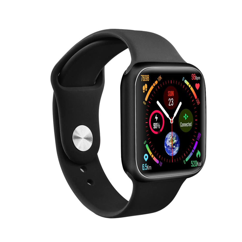 P90 smart watch for Apple 38mm strap support wireless charging 1.3 HD color long standby IP68 waterproof watch for Android IOS image