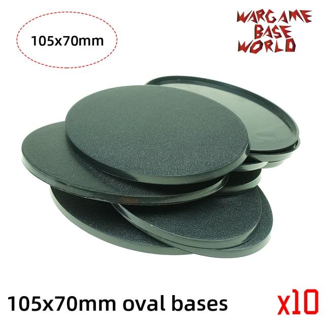 wargame base world -105 x 70mm oval bases for Warhammer 3