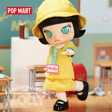 POP MART 유치원 몰리 BJD 14cm 생일 선물 아이 장난감 신품 도착 무료 배송