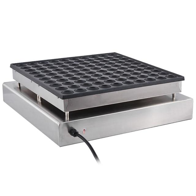 Commercial Pancake Maker Non-stick Maker  Mini Waffle Baker Machine 1PC NP-545 110V/ 220V 3200W,Waffle Size 45 * 45 * 10mm 2