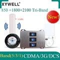 Новый! 850/1800/2100 GSM усилитель сигнала мобильного телефона Сотовый усилитель 4G усилитель Сигнала CDMA DCS WCDMA 2g  3g  4g  GSM Репитер сигнала мобильного т...