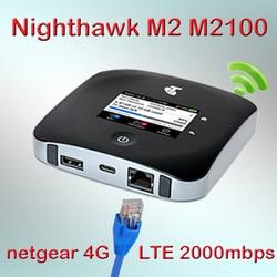Desbloqueado Netgear MR2100 Nighthawk M2 CAT20 4GX Gigabit 2000mbps 4g Router con tarjeta SIM ranura LTE Mobile router punto de acceso wifi