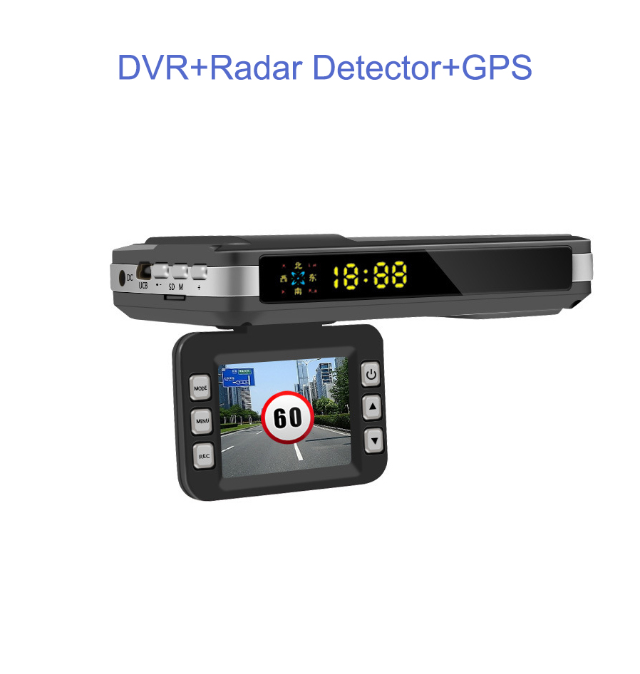 <font><b>Radar</b></font> <font><b>Detectors</b></font> <font><b>3</b></font> <font><b>In</b></font> <font><b>1</b></font> <font><b>CAR</b></font> <font><b>DVR</b></font> <font><b>GPS</b></font> Camera Logger Dash Cam For Russia Anti <font><b>Radars</b></font> Police Speed Auto Registrar Video Recorder image