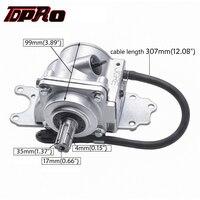 TDPRO Reverse Rear Axle Gear Box Assy Transfer Case Drive Shaft For 150cc 160cc 200cc 250cc Chinese ATV Quad Go kart Dirt Bike