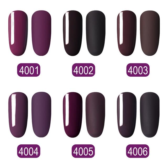 Elite99 Kamel Gel Lack Nagellack UV Hybrid Nail art Maniküre Nails10ML Vernis Ziegel Rot Macchiato Gel Nagellack