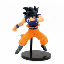 цена на New 20cm Dragon Ball Z Action Figure DBZ Super Blood of Saiyans Son Goku Ultra Instinct PVC Anime Figures Model Doll Toys