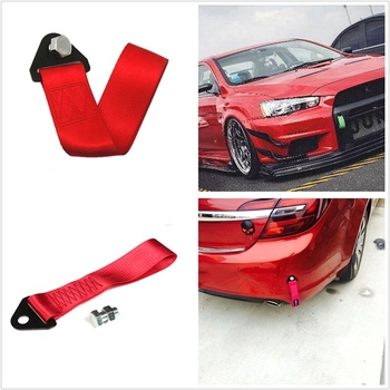 Red RASTP High Strength Tow Strap