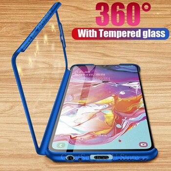 Ударопрочный 360 Защитный чехол для Samsung Galaxy A70 A60 A40 A20 A50 A30 A10 S A10S чехол для Samsung A6 A8 Plus A9 A7 2018