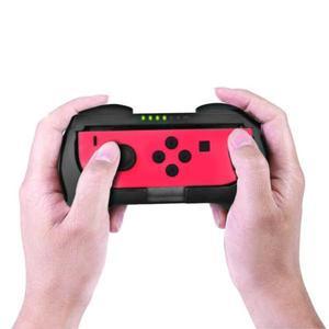 Image 3 - 1 zestaw lewy + prawy ABS ściskacz stojący uchwyt dla NS Joy Con ściskacz dla przełącznik do nintendo Joy Con kontroler uchwyt do gier
