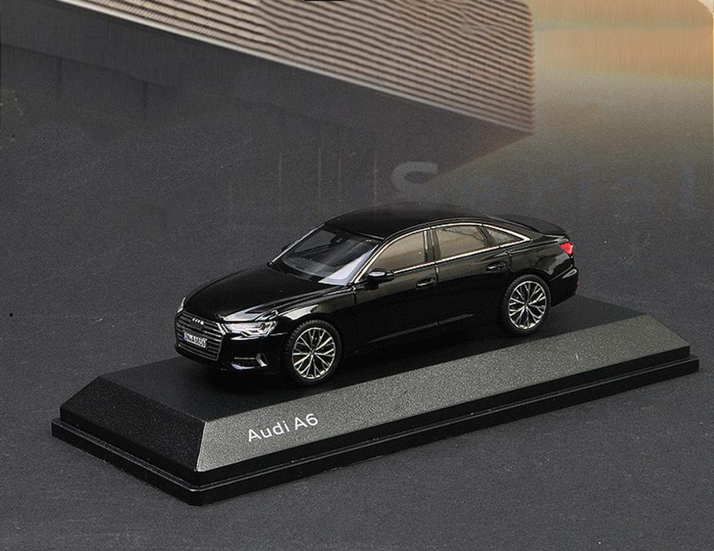 1/43 Scale Audi A6 2018 Black Diecast <font><b>Car</b></font> Model Toy Collection Gift image