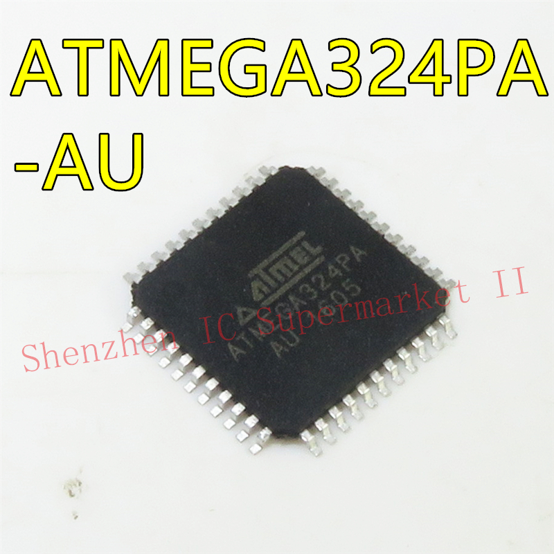 5PCS IC ATmega32A-AU ATmega32A MCU 8BIT TQFP44 NEW GOOD QUALITY