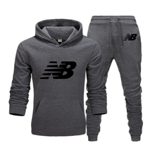 New Autumn Men's Two-piece Hoodie + Pants Harajuku Sportswear Casual Men's/Women's Sports Shirt Track and Field Suit Brand Sport