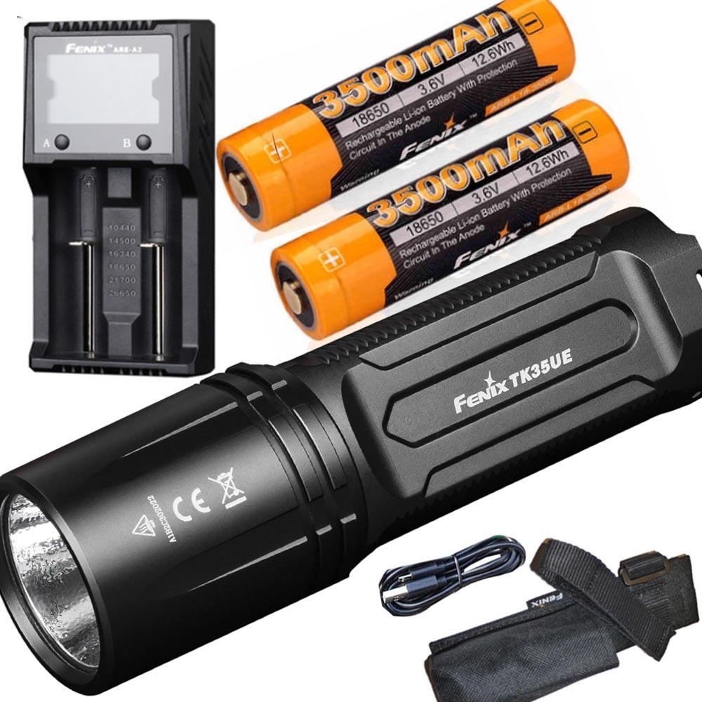 Black fenix Unisex TK35 Ultimate Edition 2018 Torch