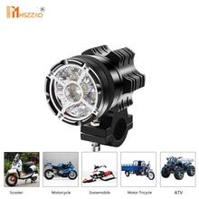 Reflektory motocykla 45W przeciwwybuchowe netto 9 kulek 5500lm LED świecące światło punktowe robocze aluminium pyłoszczelna wodoodporna lampa przeciwmgielna