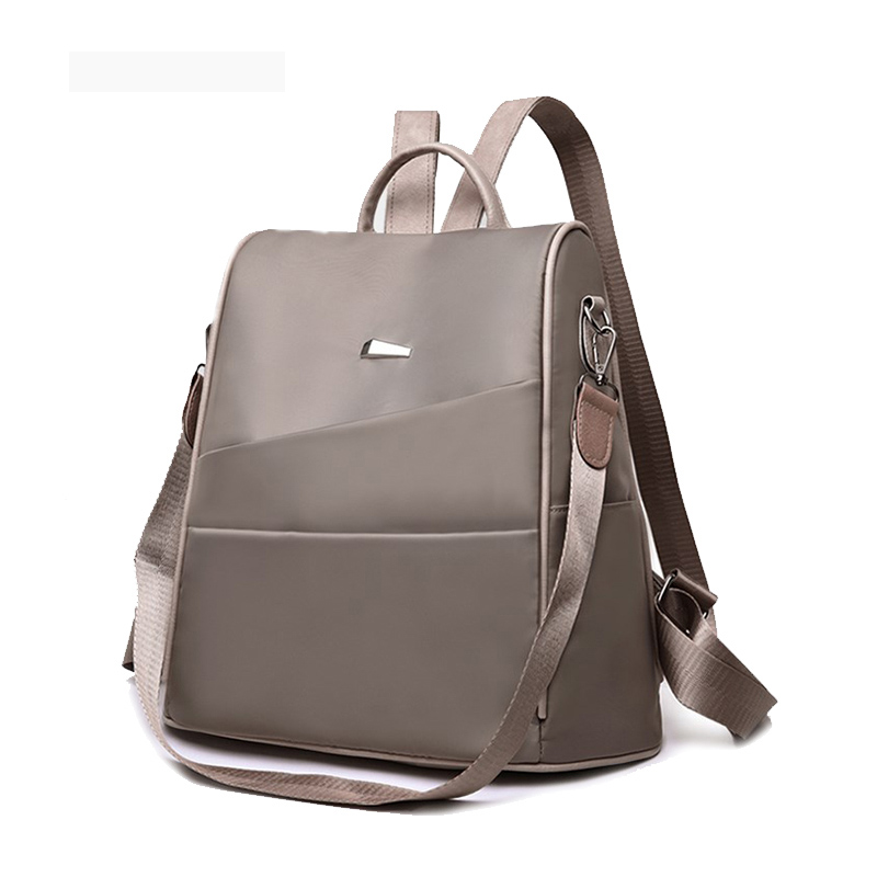 Fashion Lightweight Women's Backpack Oxford Waterproof Classic Elegant Girl Rucksack Shopping Leisure School Bag New Design