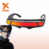 XCOSER X men Dark Phoenix Cyclops Glasses Cosplay Prop Halloween Prop Cosplay Accessary Cool Sunglasses For Summer High Quality