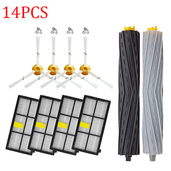 Brushes & HEPA Filters for iRobot Roomba 800 900 Series 860 870 880 890 960 980 990 Robot Vacuum Cleaner Parts Replacement Kit replenishement kit for irobot roomba 800 900 series 805 860 870 871 880 890 960 980 vacuum accessories replacement parts