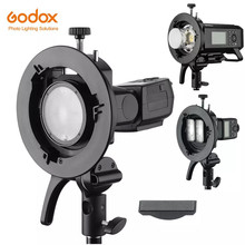 Godox S2 Speedlite Bracket S1 Bijgewerkt S-Type Bowens Flash Houder Voor Godox V1 V860II AD200 AD400PRO TT600 snoot Softbox