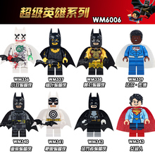 купить WM6006 Single Sale Marvel Super Heroes Batman Punisher Batman Val-zod Figures Plastic Building Blocks Gift Toys For Children DIY в интернет-магазине