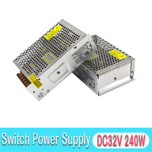 DC32V 240W Switching Power Supply 110V 220V Input untuk 3D Printer Pemantauan Kamera Lampu LED Sistem Absensi(China)