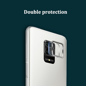 Image 3 - Camera Lens Protective Ring + Tempered Glass for Xiaomi Redmi Note 9s 9 Pro Max Lens Screen Protector for Redmi Note 9s 9 S