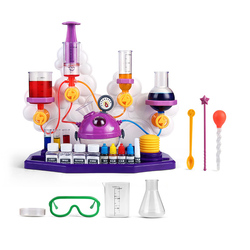 Kids Science Laboratory Teaching Aids Toys Kit Educational Toys For Children Chemical Tools STEM Toys Funny Learning Toy Indoor