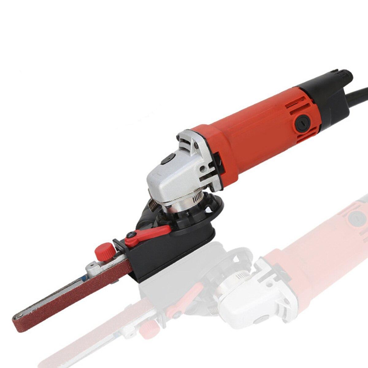DIY Sander Sanding Belt Adapter For 115/125 Electric Angle GrinderM14 Woodworking Metalwork